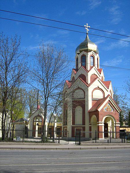 450px-Lesnoy_avenue,_17_-_fire-station_Chapel     ИКОНА   НЕОПАЛИМАЯ  КУПИНА