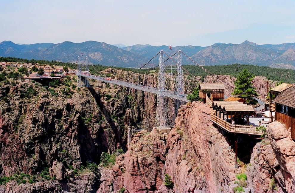 1098-990x647    Колорадо  Королевское  ущелье  мост