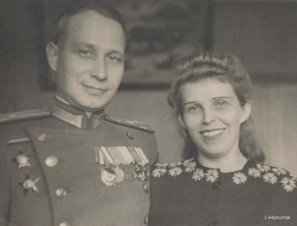 ПАПА И МАМА,ВЛАДИВОСТОК,  1950 - 1951
