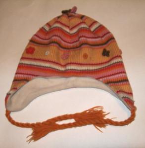 шапка оранжевая