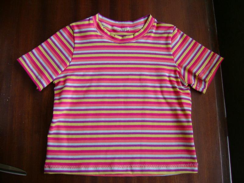 футболка полоска