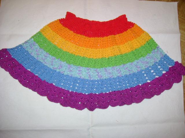 юбка радуга 003
