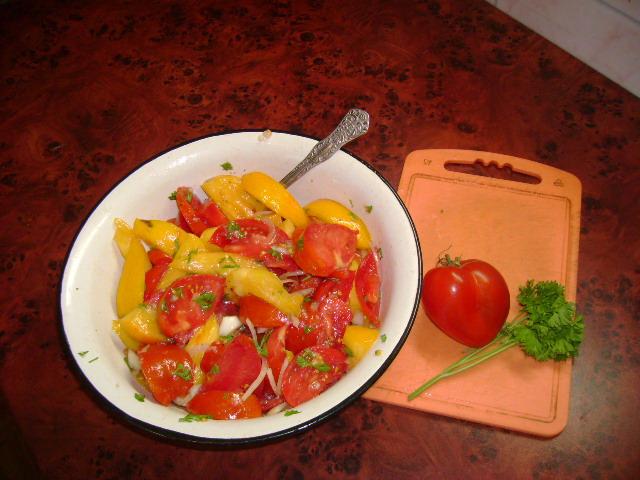 салат помидоры