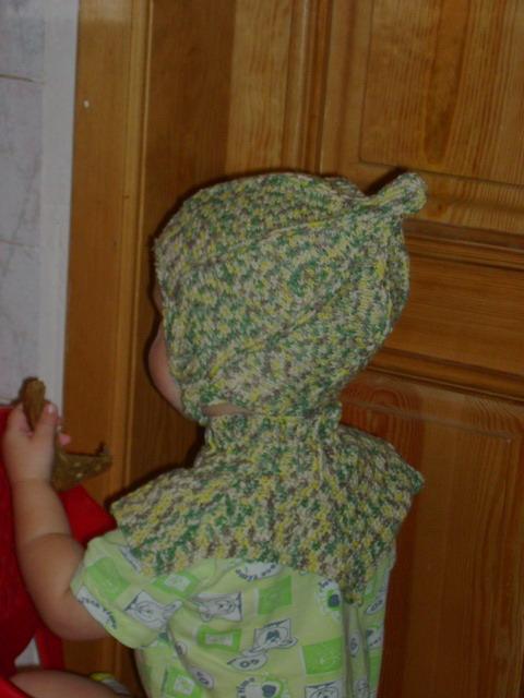 шлем с воротником анфас