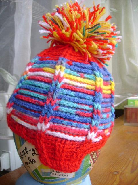 шапка с помп.