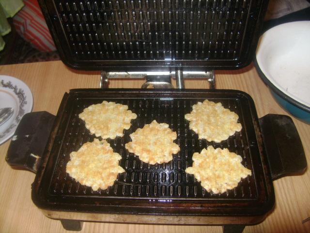 вафли сырные НА