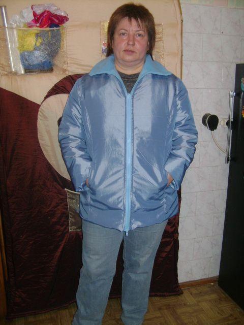 куртка Лены голубая 001