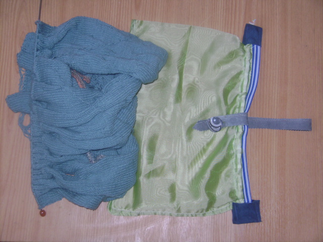 спицы мешок вязание