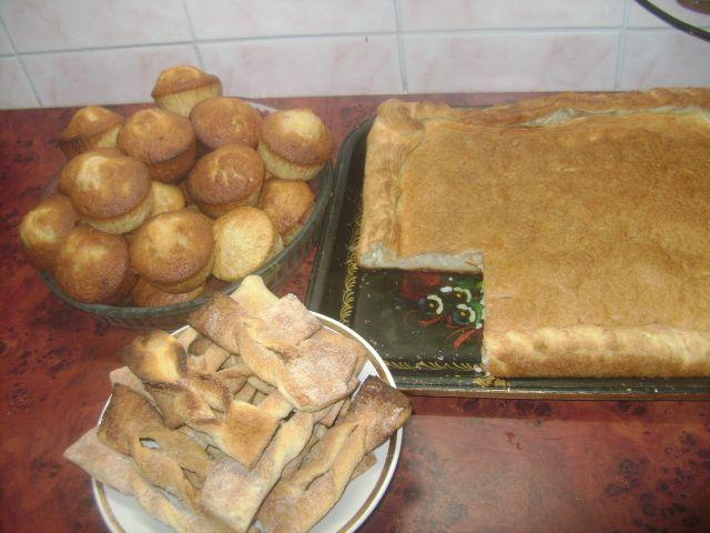 пироги и кексы