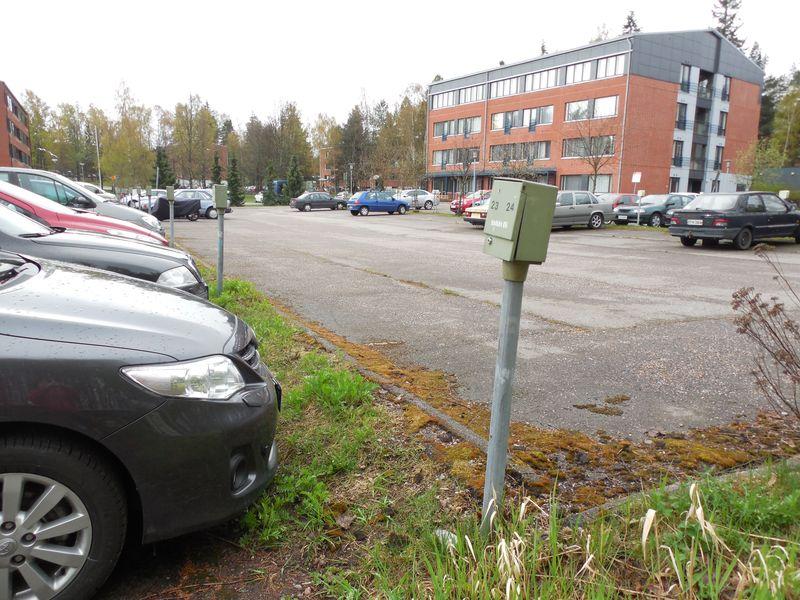 Х дома парковка