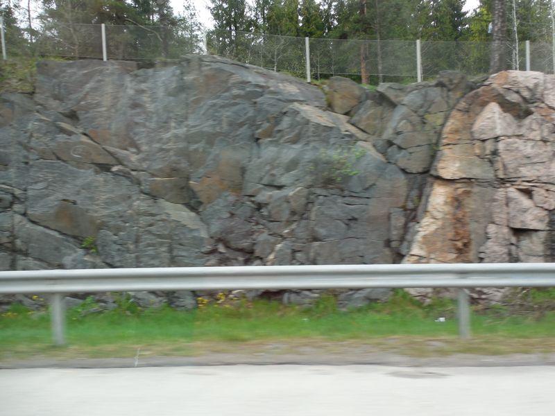 Х скалы дорога