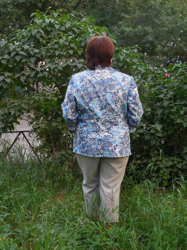 пиджак ог.спинка