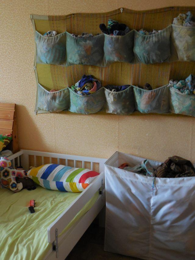 кармашки у кроватки