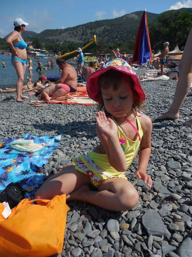 Маша с медузой
