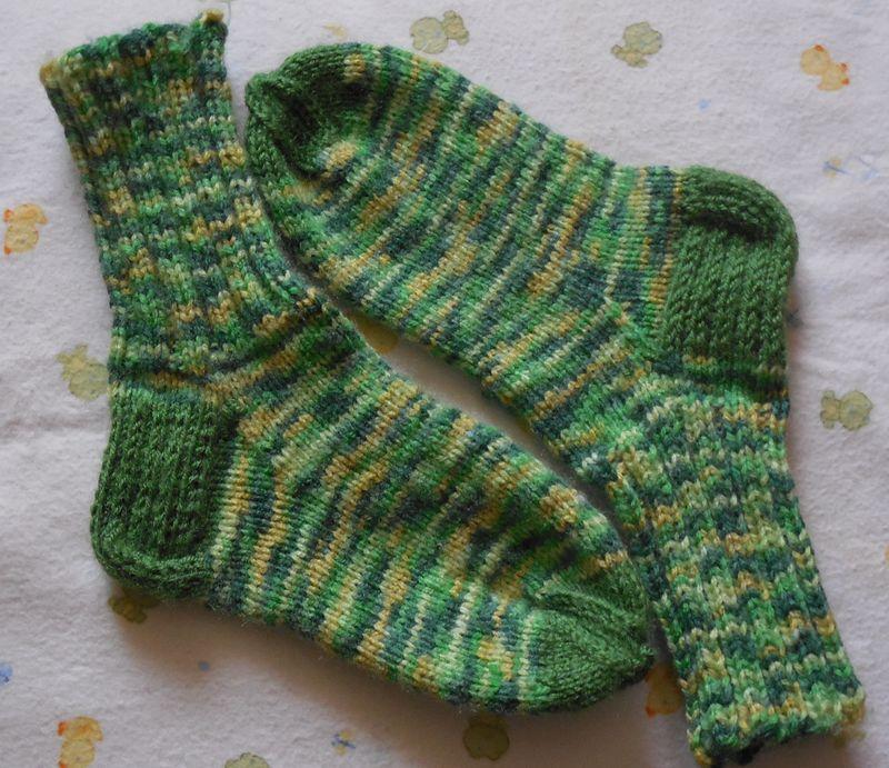 носки зеленые