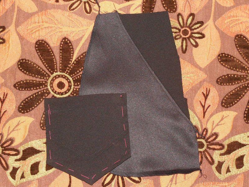брюки карманы