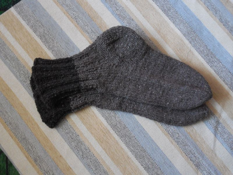 Носки суровые