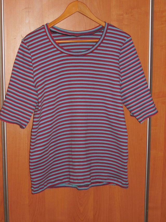 футболка полосатая