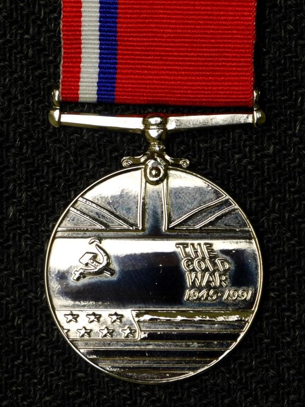 медаль За победу в холодной войне Великобритания лицо М