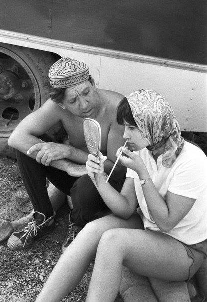 Юрий Никулин и Наталья Варлей. Крым. 1966 год.