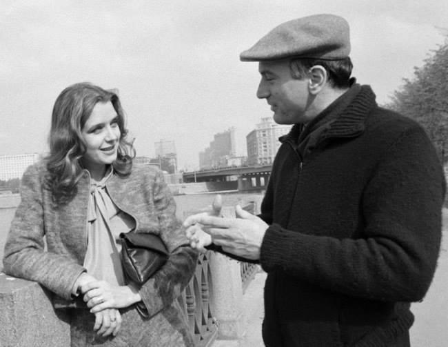 Ирина Алферова и Роберт Де Ниро.Москва. 1983 год.