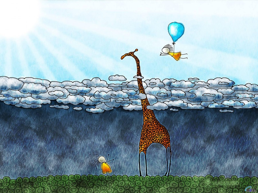 жираф вода юмор скачать