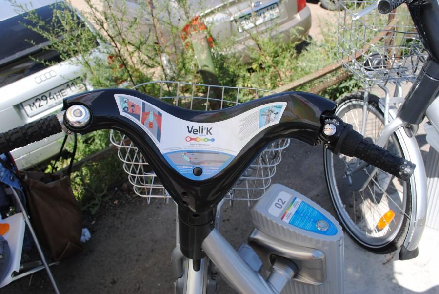 сеть велосипедов общего пользования Veli'K