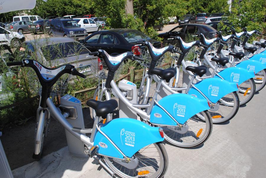 казанская сеть велосипедов общего пользования Veli'K