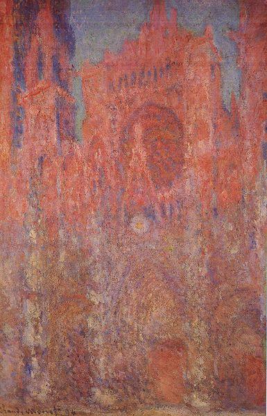385px-Claude_Monet_-_Rouen_Cathedral,_Facade_I