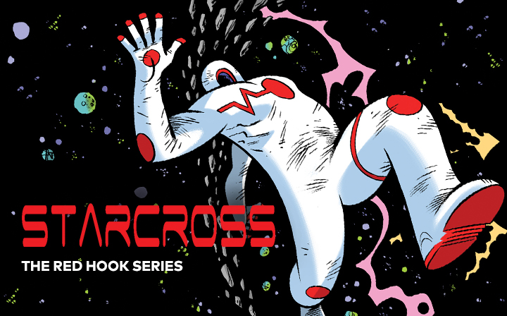 Dean Haspiel's STARCROSS launches today for free at LINE Webtoon