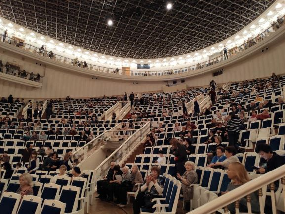 антракт, Большой зал