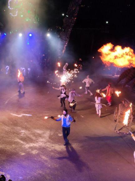 Шоу с огнем