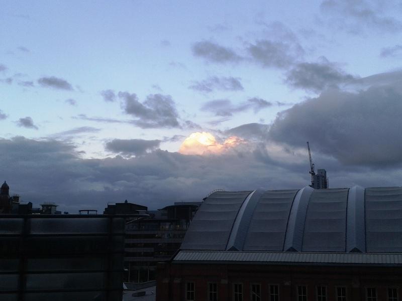 Небо над Манчестером