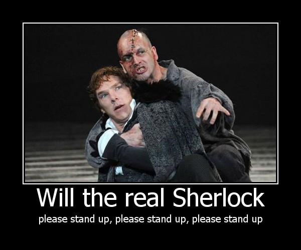 Jonnie Lee Miller & Benedict Cumberbatch @ Frankenstein