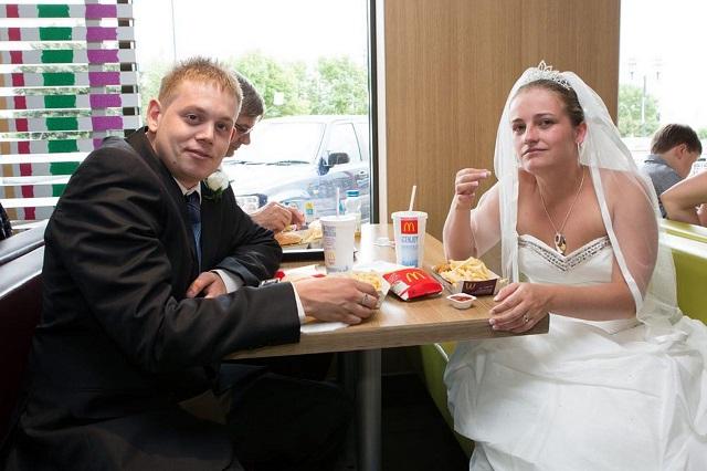 McDonalds-Wedding