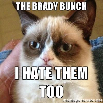 brady bunch hate