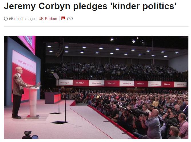kinder politics