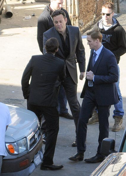 First Look - Vince Vaughn and Taylor Kitsch on the set of