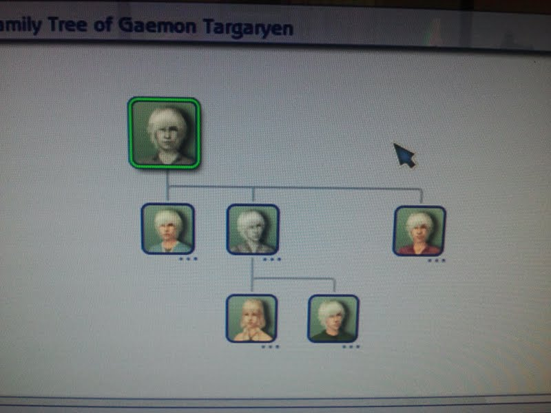 Gaemon Targaryen Family Tree 1/1/13