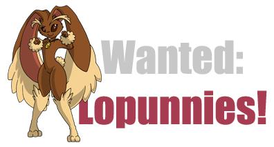 lopunnywants