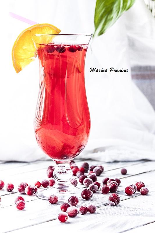 Клюквенно-апельсиновый коктейль - Еда и все, что с ней ...: http://gotovim-vkusno.livejournal.com/1758703.html