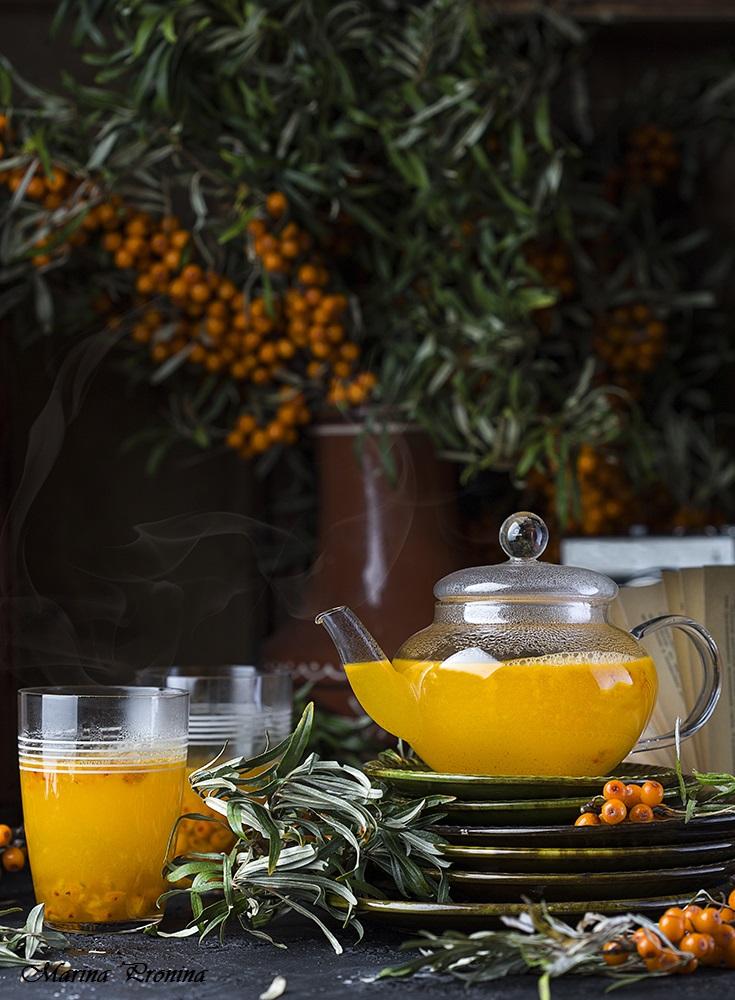 чай фото книга осень