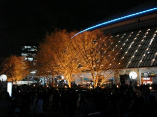 Leaving the Tokyo Dome