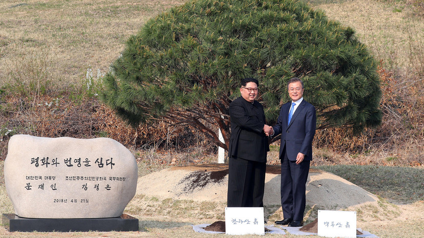 Железный занавес пал. Кто руководит объединением двух Корей?