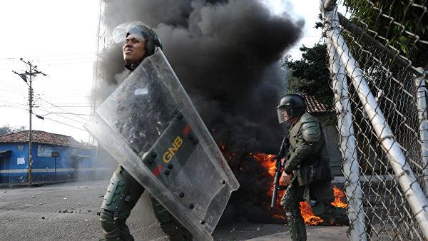 Венесуэла в огне
