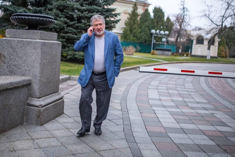 Украина повернется к России Коломойским