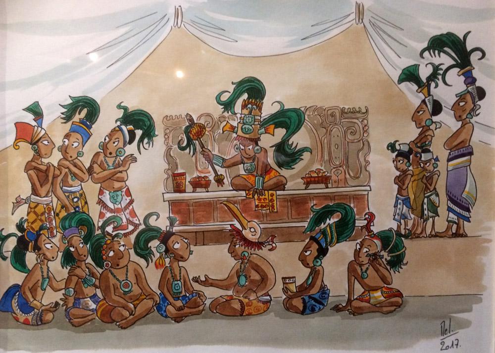 И еще комиксов на тему древних майя PNG, Panel 3_01