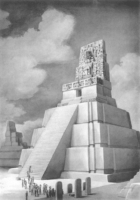 Тикаль, Храм II