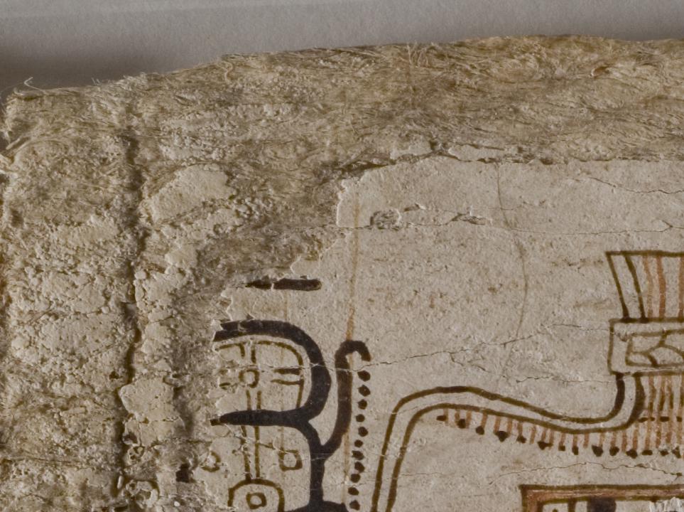 Писцовая культура у древних майя. Материал для письма. Trocortesiano_106, estuco