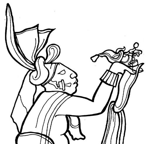 Писцовая культура у древних майя. Материал для письма. Jester-Band